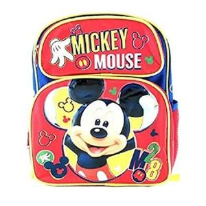 Small Backpack - Disney - Red 3D 12 New 103286